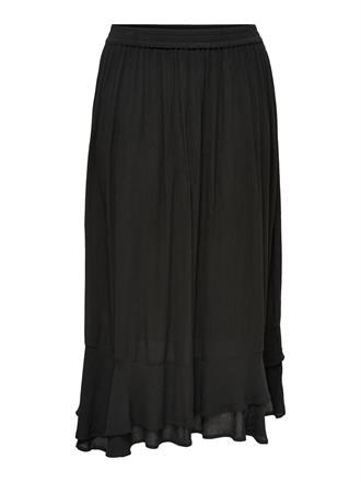 ONLY CARMA Black maxi skirt
