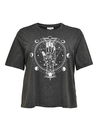 ONLY CARMA Grey astrology tee