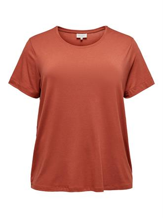 ONLY CARMA Terracotta t shirt