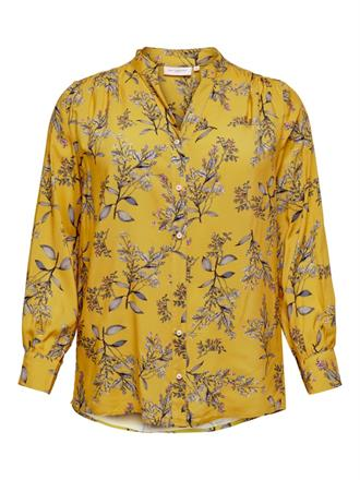 ONLY CARMA Yellow floral shirt