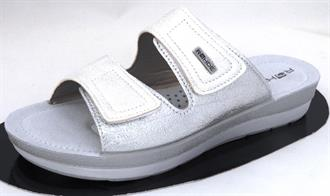 ROHDE Wit velcro slipper