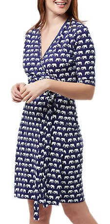 SUGARHILL Mini elephant wrap dress