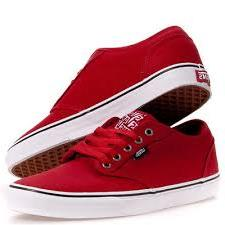 VANS Rood canvas