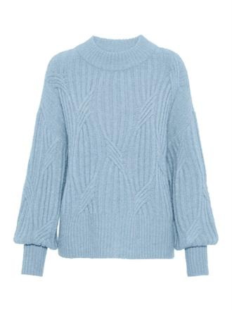 YAS Baby blue knit