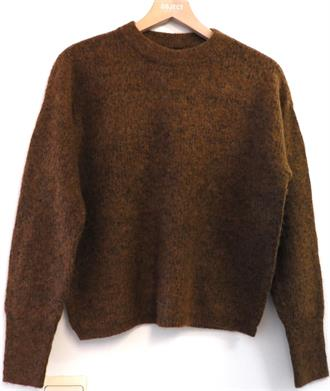 YAS Brown knit pull