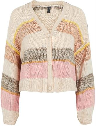 YAS Colourfull knit cardigan