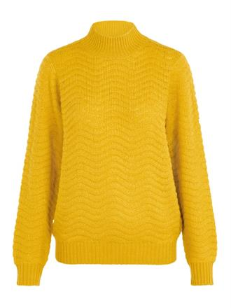 YAS Golden yellow knit