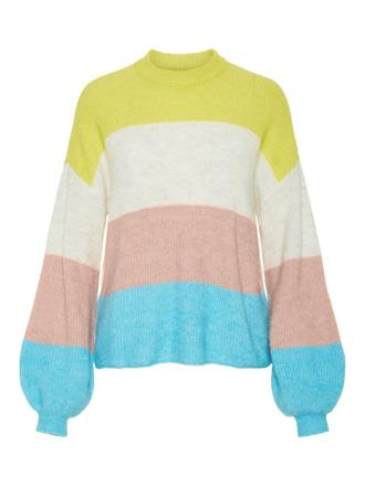 YAS Multi color knit