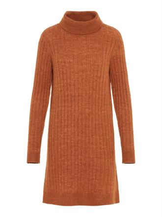 YAS Rust knit dress