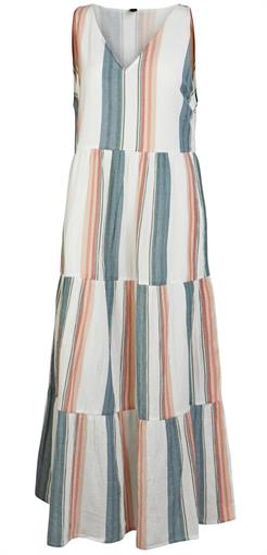 YAS Stripe maxi dress