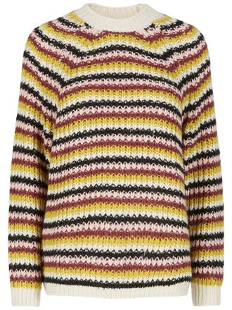 YAS Stripes knit pullover
