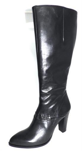 zwarte laarzen plat
